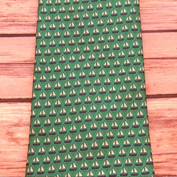 c0faf84a4131 Hermes Accessories | Mens Herms Sailboat Tie | Poshmark